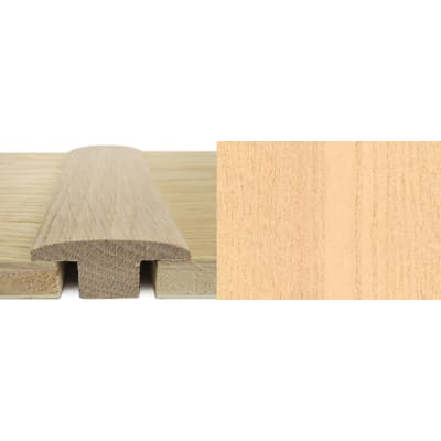 Ash T-Bar Profile Soild Hardwood 15mm Rebate 2.4m