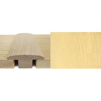 Maple T-Bar Profile Soild Hardwood 15mm Rebate 2.7m