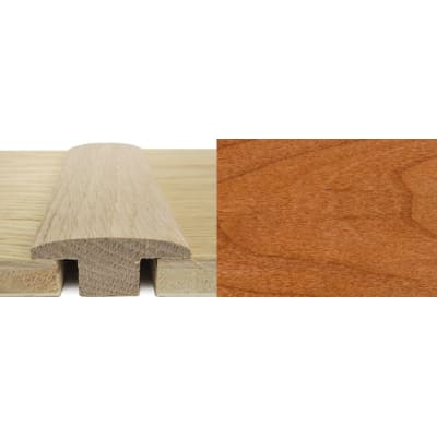 Cherry T-Bar Profile Soild Hardwood 15mm Rebate 2.4m