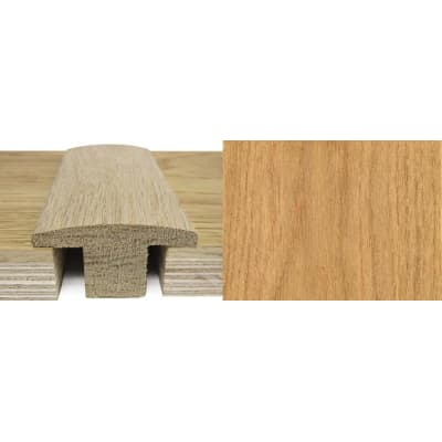 Oak T-Bar Profile Soild Hardwood 20mm Rebate 0.9m