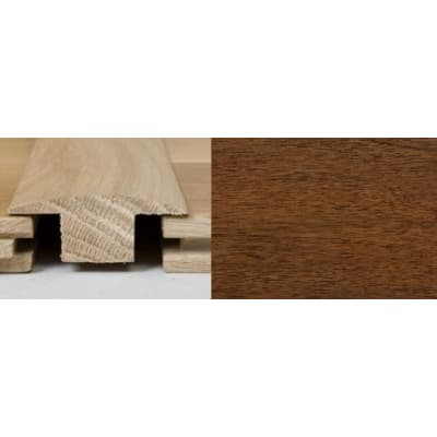 Light Walnut T-Bar Profile Soild Hardwood 1m