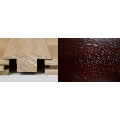 Dark Walnut T-Bar Profile Soild Hardwood 1m