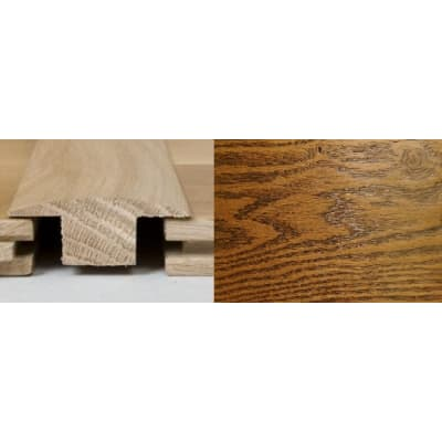 Honey Oak T-Bar Profile Soild Hardwood 1m