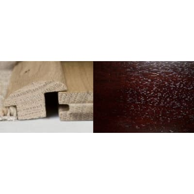 Dark Walnut Wood to Carpet Profile Soild Hardwood 3m