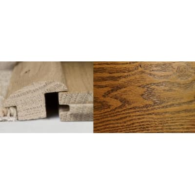 Honey Oak Wood to Carpet Profile Soild Hardwood 3m