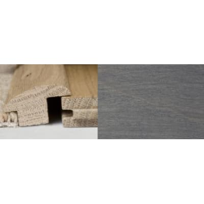 Silver Grey Stained Wood to Carpet Profile Soild Hardwood 1m