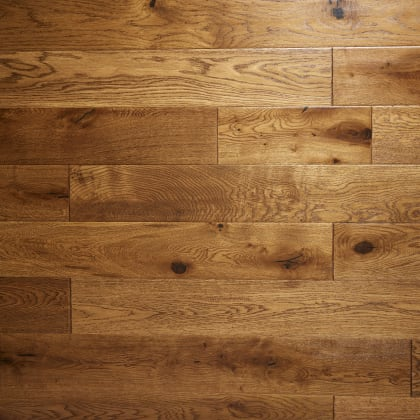 Antique Tuscan Stained Lacquered Oak Hand Scraped Hardwood Engineered Wood Flooring