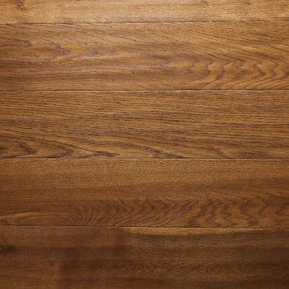 Cognac Stained Oiled Oak Hand Scraped Hardwood