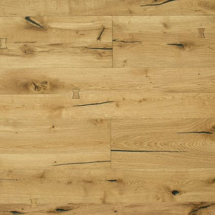 Battersea Oak Natural Oiled Heavy Distressed Brushed 290mm Hardwood Flooring