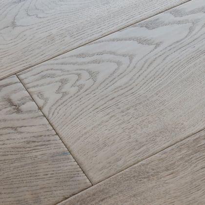 Rustic Meadow Oak Hard-Waxed Oiled Hand-Scraped & Distressed 240mm Engineered Wood Flooring