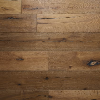 Bordeaux Oak Smoked Brushed Oiled Hardwood Flooring