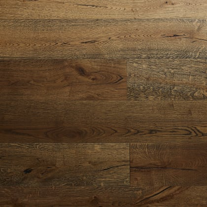 Avignon Oak Black Grain Brushed Oiled Hardwood Flooring