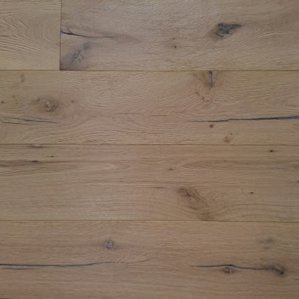 Grasmere Raw Oak Heavy Brushed Hardwax Hardwood Engineered Wood Flooring