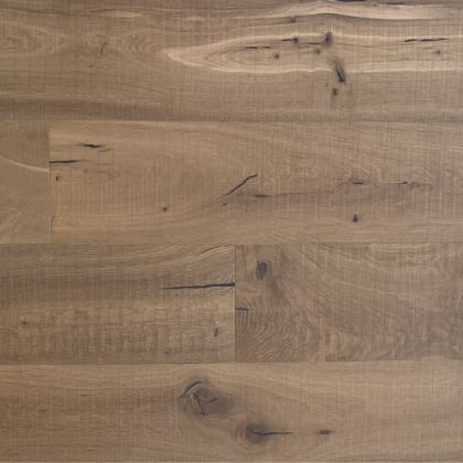 Oak Smoked Band Sawn Invisible Lacquer Engineered Hardwood Flooring