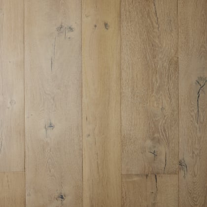 Brechin Oak Brushed Rustic Lime Dual-Width Engineered Hardwood Flooring