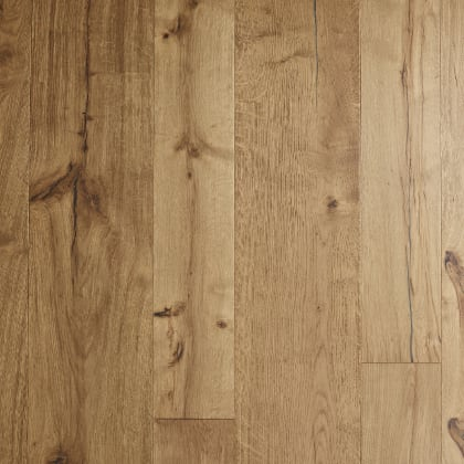 Harwick Oak Brushed Rustic Smoke Dual-Width Engineered Hardwood Flooring