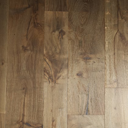 Nairn Oak Brushed Grey Smoke Dual-Width Engineered Hardwood Flooring