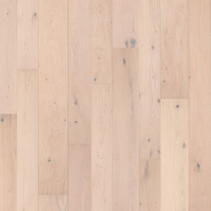 Haarlem White Rustic Brushed Oiled Oak Multi-Width Engineered Hardwood Flooring