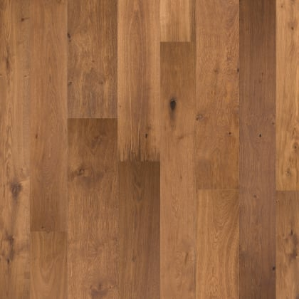 Valkenburg Smoked Natural Rustic Brushed Oiled Oak Multi-Width Engineered Hardwood Flooring