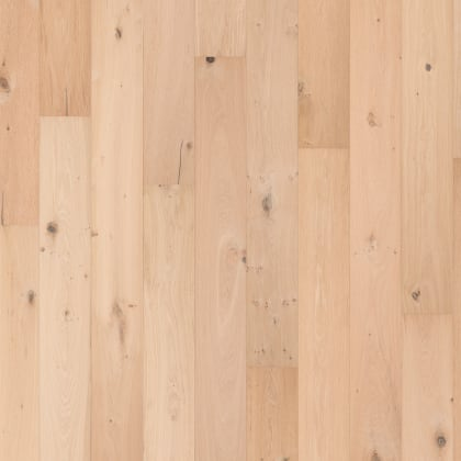 Leiden (Unfinshed Look) Natural Rustic Brushed Invisible Oiled Oak Multi-Width Engineered Hardwood Flooring