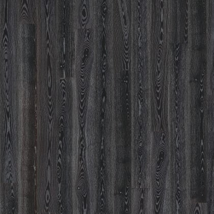 Black Silver Hi-Gloss Ash Engineered Hardwood Flooring