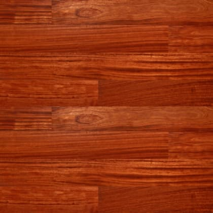 Bubinga Lacquered Engineered Hardwood Flooring