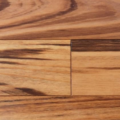 Tigerwood Engineered Hardwood Flooring (Zebrawood)