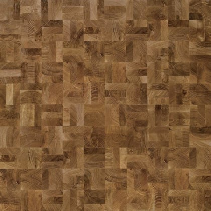 End Grain Oak Prime 3 Block Mosaic Parquet Flooring