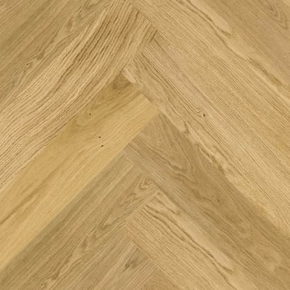 Natural Oiled Oak Herringbone Rustic Engineered Parquet Click Block