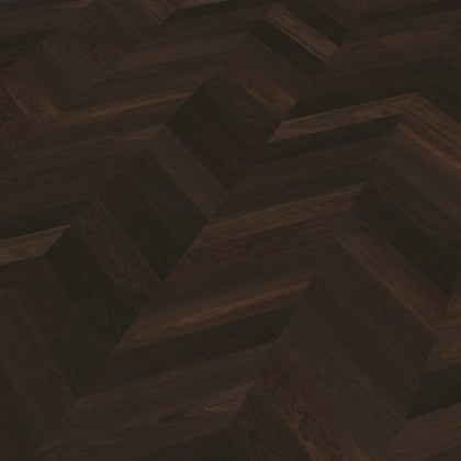 Gripsholm Oak Brushed & Natural Oil Chevron Parquet Flooring