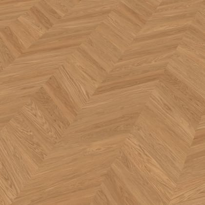 Sverresborg Oak Brushed & Natural Oil Chevron Parquet Flooring