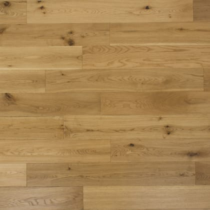 Antique Clear Oak Hand scraped Hardwood Solid Flooring