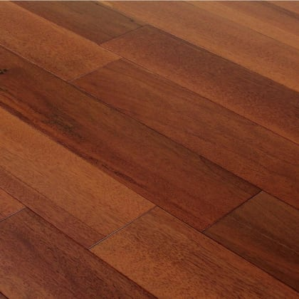 Merbau Lacquered Engineered Hardwood Flooring
