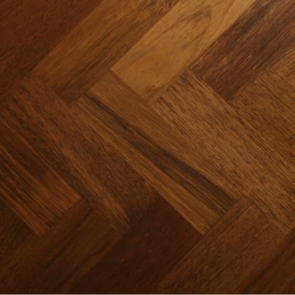 Merbau 280mm Parquet Block - Herringbone