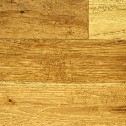 Antique Hickory Hand Scraped Hardwood Engineered Wood Flooring