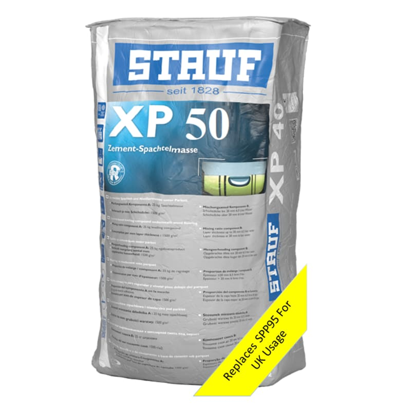 Stauf XP50 (SPP95) Wood Flooring Levelling Compound 20kg Leveller / Screed
