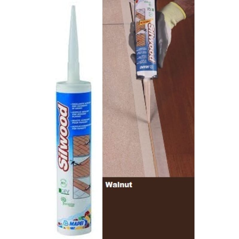 Mapei Silwood Cartridge Walnut - 310ml Finishing Touch