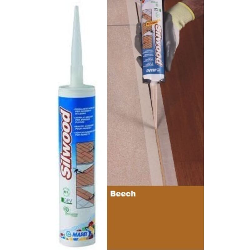 Mapei Silwood Cartridge Beech - 310ml Finishing Touch
