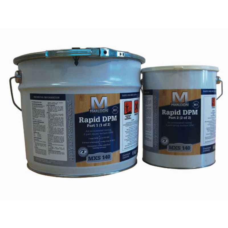 Marldon 2 Part Single Coat MXS140 Liquid Damp Proof Membrane