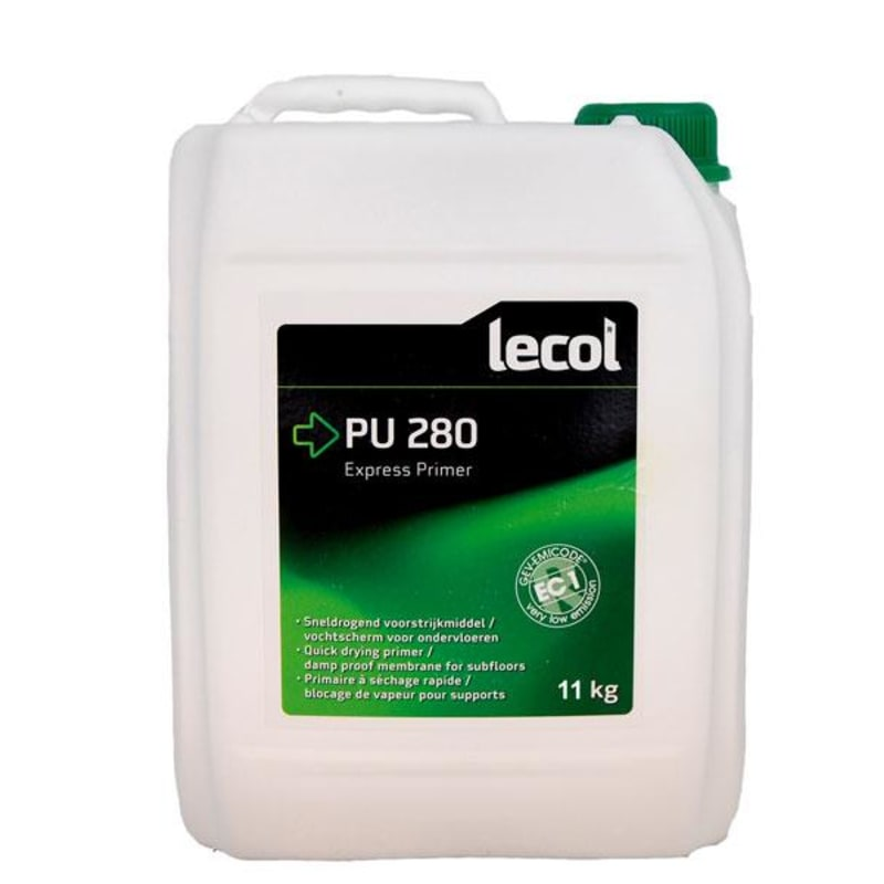 Lecol 1 Part 2-3 Coat PU280 5kg Liquid Damp Proof Membrane