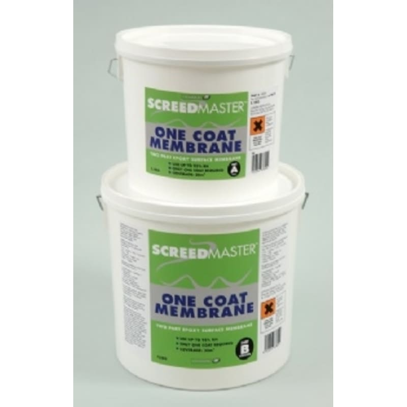 Screedmaster 2 Part Single Coat by Laybond 5kg Liquid Damp Proof Membrane