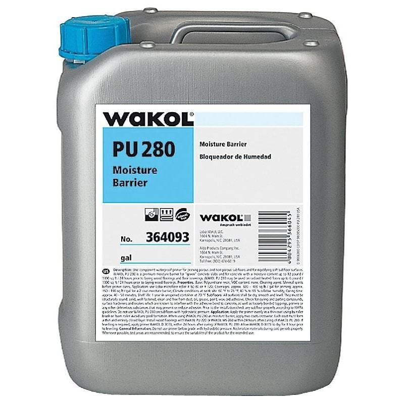 Wakol PU280 Express Primer 5kg Liquid Damp Proof Membrane
