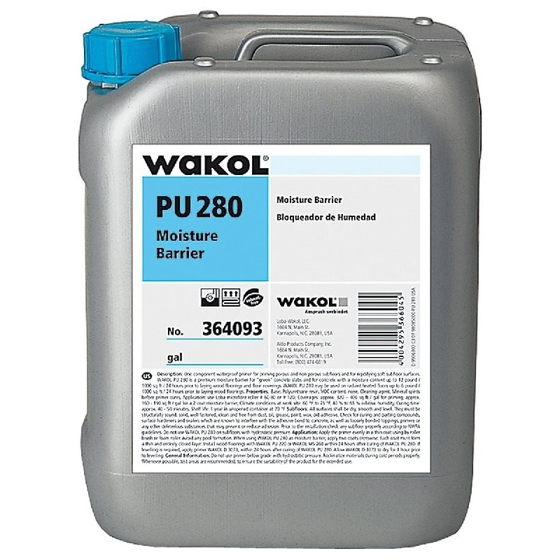 Wakol PU280 Express Primer 11kg Liquid Damp Proof Membrane