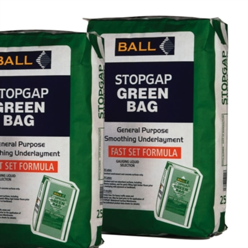 Ball Stopgap Green Bag 25Kg Bag Leveller / Screed