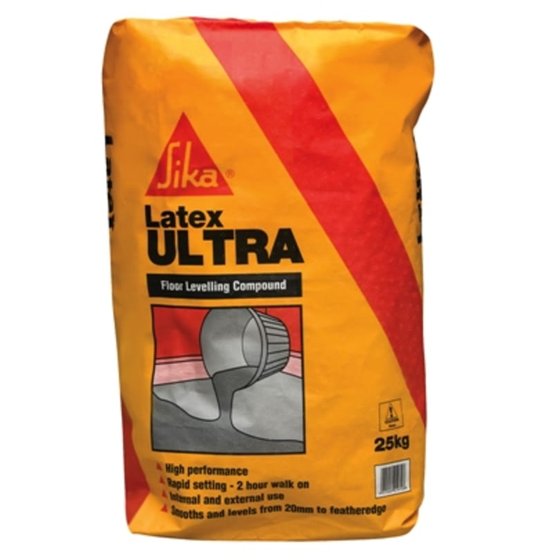 Sika Latex Ultra Single Compund Rapid 25Kg Leveller / Screed