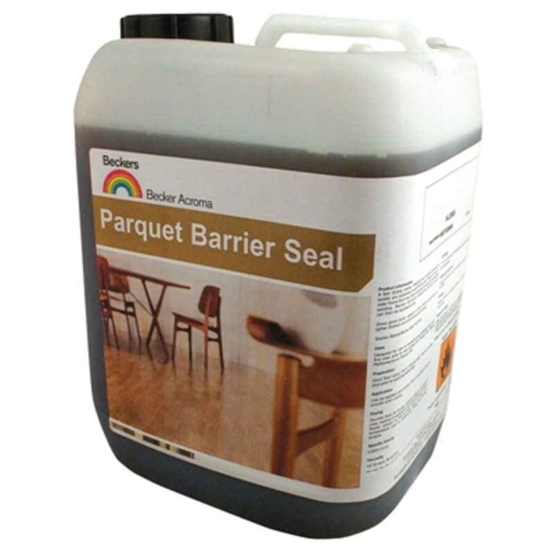 Beckers Parquet Barrier Seal 5L Lacquers & Seal