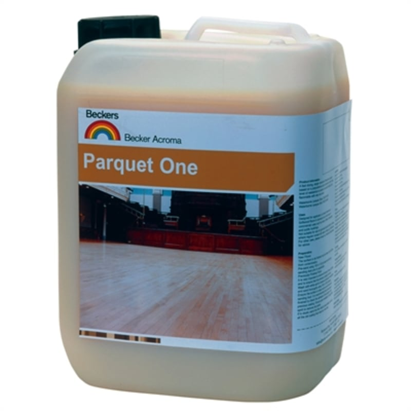 Beckers Parquet One SATIN Lacquer 5L Lacquers & Seal