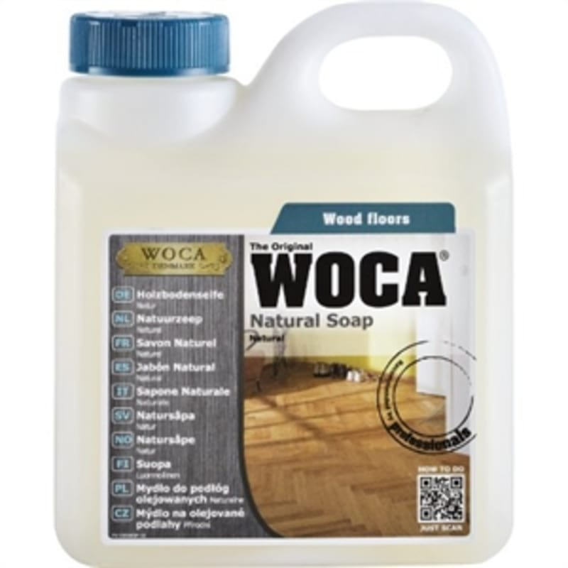 WOCA Soap Natural Oiled Floors 5L (1 = 65m2) Oils & Maintenance