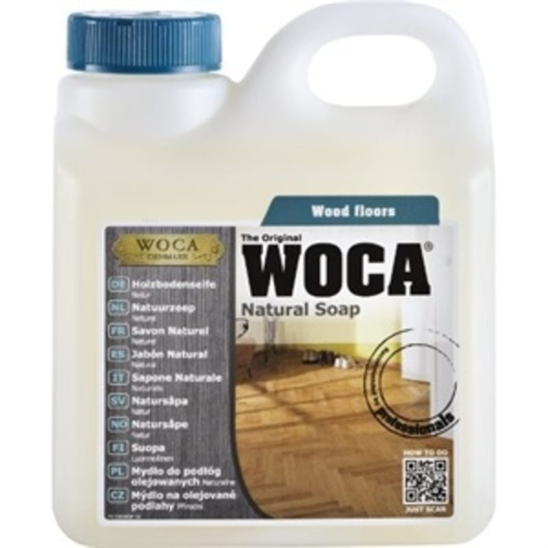 WOCA Soap Oiled White Floors 5L (1L = 65m2) Oils & Maintenance