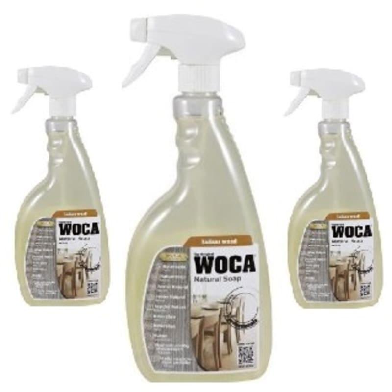 WOCA White  Pre-Mixed Soap Spray 0.75L TRIPLE PACK Oils & Maintenance